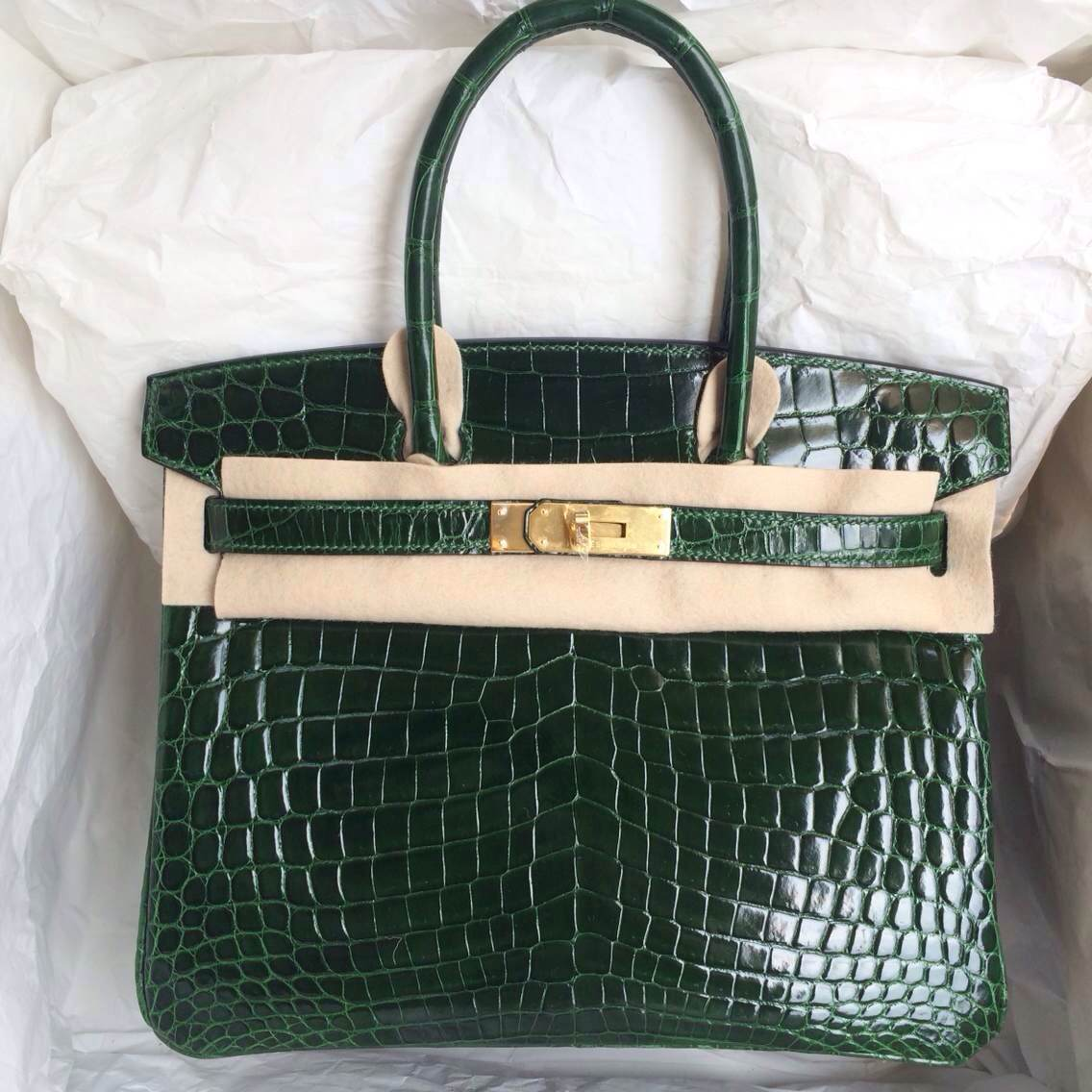 Hermes Purple Birkin Crocodile Skin Fake Birkin Bag Hermes