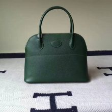 Discount Hermes Bolide Bag 27cm in 2Q English Green Epsom Leather