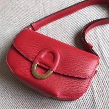 Hermes Cherche Midi Bag20cm in Q5 Rouge Casaque Epsom Leather Gold Hardware