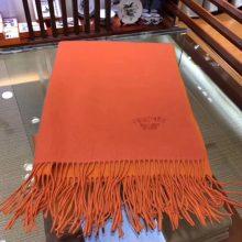Discount Hermes 100% Cashmere Women's Scarf in Orange & Yellow