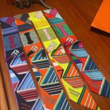 Wholesale Hermes 100%Silk Twilly Scarf Ribbon Neckerchief 85*5cm