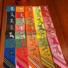 Pretty Hermes 100%Silk Twilly Scarf 85*5cm Neckerchief Bag Ribbon