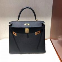 Wholesale Hermes New Color 6o Vert Cypres Togo Calf Kelly28CM Bag Gold Hardware