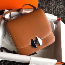 Hermes Bag Customization New Constance 2002 Gold Evecolor Shoulder Bag20CM