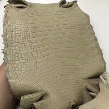 Customization Hermes Minikelly-2 Clutch Y1 Vanille Color Matt Alligator Crocodile Leather