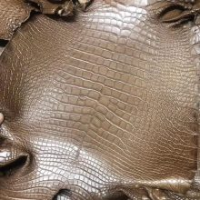 Customization Hermes Minikelly Bag Coffee Color Alligator Matt Crocodile Leather